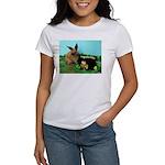 Buddy the Lucky Bunny Women's T-Shirt