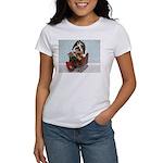 Dudley in Winter Sleigh Women's T-Shirt