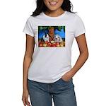 Dinah and Macintosh Picking Apples Women's T-Shirt