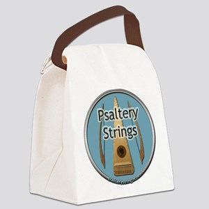 final new logo round copy Canvas Lunch Bag