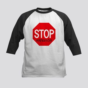 Stop Anderson Kids Baseball Jersey