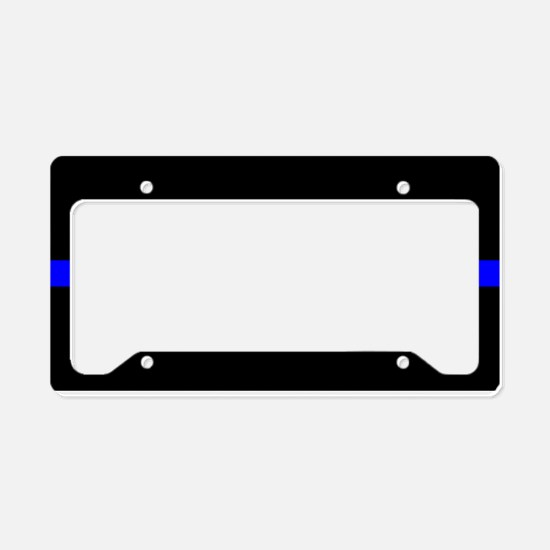 Unique Police officer License Plate Holder