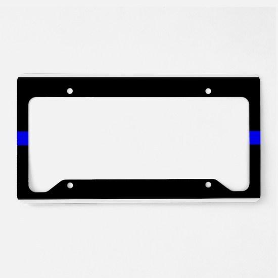 Cops License Plate Holder