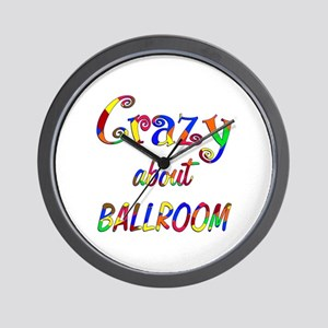 Crazy About Ballroom Wall Clock