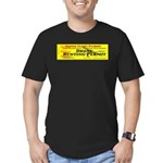 Drone Hunting Permit Men's Fitted T-Shirt (dark)