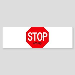 Stop Amari Bumper Sticker