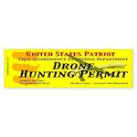 Drone Hunting Permit (Bumper Sticker 50 pk)