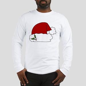 Santa Hat Long Sleeve T-Shirt