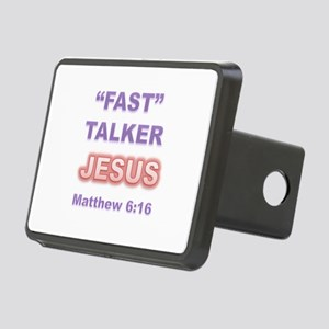 """FAST"" TALKER Series: JESUS Matthew 6:16 Rectangul"