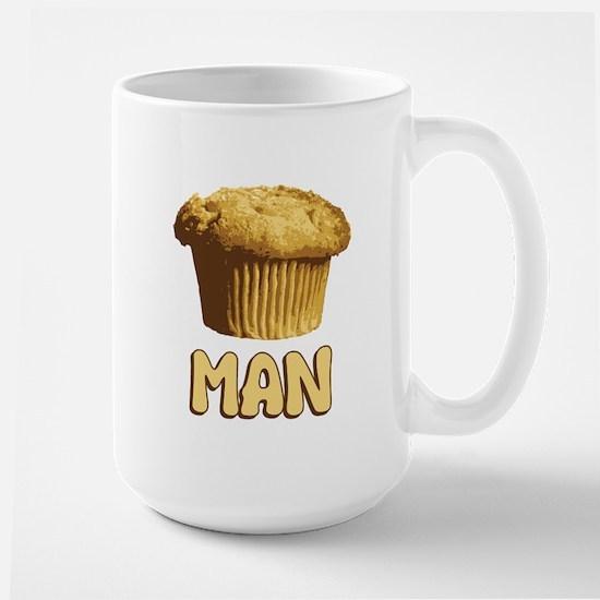 Muffin Man T-Shirt Large Mug