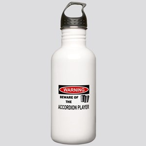 Accordion Player Stainless Water Bottle 1.0L