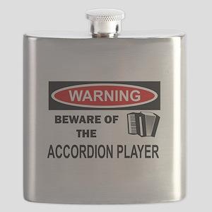Accordion Player Flask
