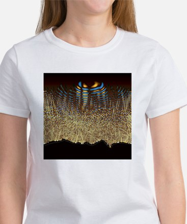 Quantum waves - Women's T-Shirt