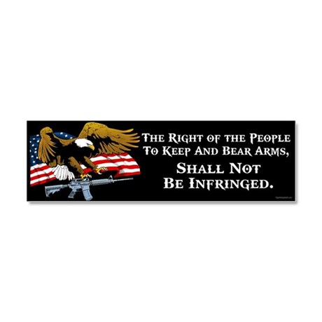Right of the People Car Magnet 10 x 3