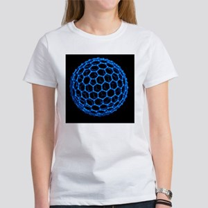 Fullerene molecule - Women's T-Shirt