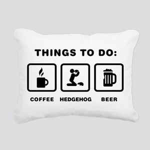 Pygmy Hedgehog Lover Rectangular Canvas Pillow