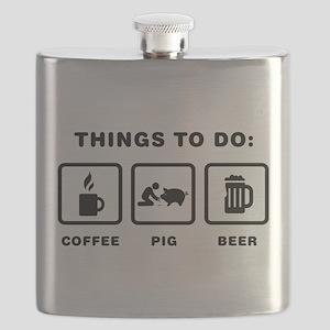 Pig Lover Flask