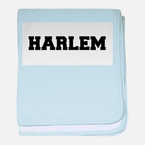 Harlem Logo baby blanket
