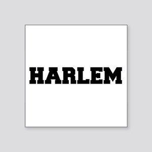 "Harlem Logo Square Sticker 3"" x 3"""