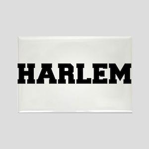 Harlem Logo Rectangle Magnet