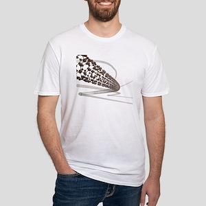 Nanotube technology, artwork - Fitted T-Shirt