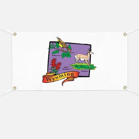 Wyoming Map Banner