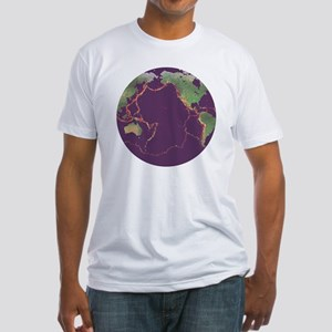 Pacific Ring of Fire - Fitted T-Shirt