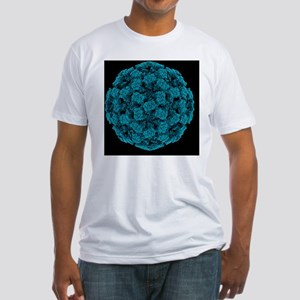Norwalk virus particle - Fitted T-Shirt