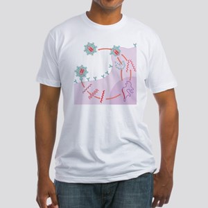 HIV replication - Fitted T-Shirt