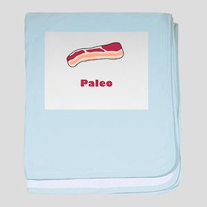 Paleo Bacon baby blanket