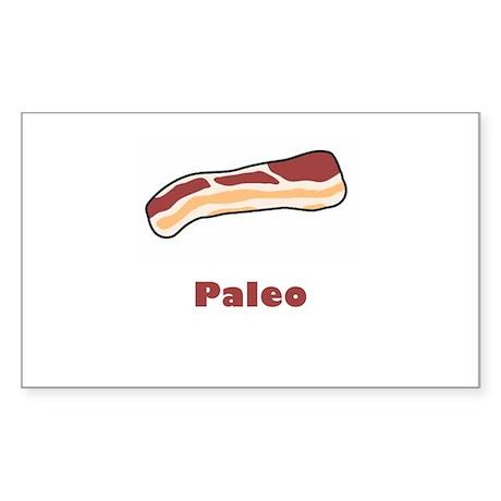 Paleo Bacon Sticker (Rectangle)