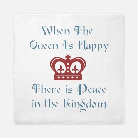 Queen is happy Queen Duvet