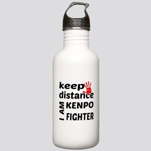 Keep distance I am Ken Stainless Water Bottle 1.0L