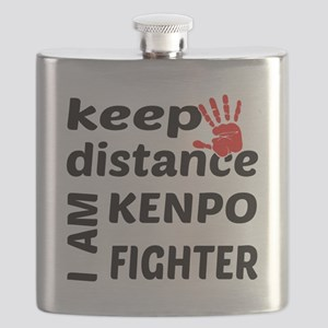 Keep distance I am Kenpo fighter Flask