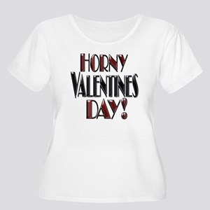 HORNY VALENTINES DAY- RED ANDBLACK copy Women'
