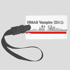 HMAS Vampire Large Luggage Tag