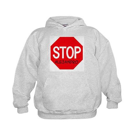 Stop Alejandro Kids Hoodie
