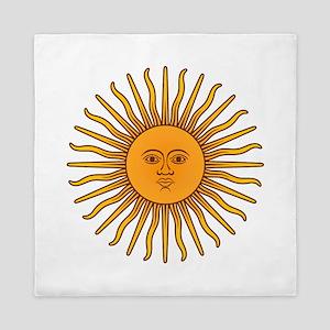 Sol de Mayo Queen Duvet