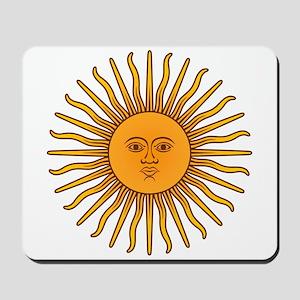 Sol de Mayo Mousepad