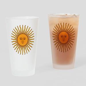 Sol de Mayo Drinking Glass