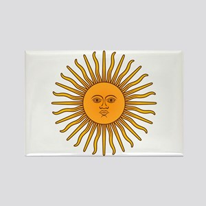 Sol de Mayo Rectangle Magnet