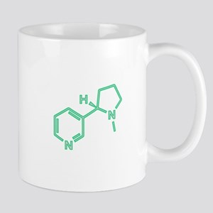 Nicotine Molecule Mug