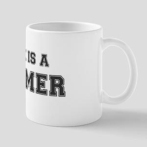 WORK IS A BUMMER Mug