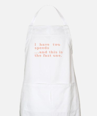 Slow Moving BBQ Apron