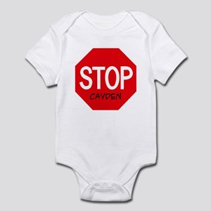 Stop Cayden Infant Bodysuit