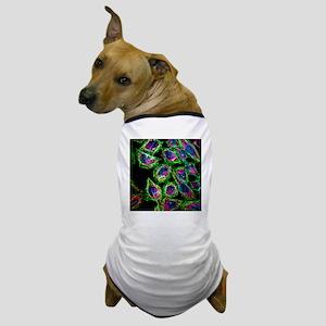 HeLa cancer cells - Dog T-Shirt
