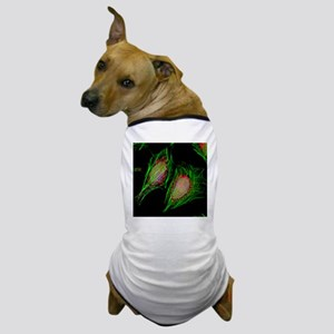 HeLa cells, light micrograph - Dog T-Shirt