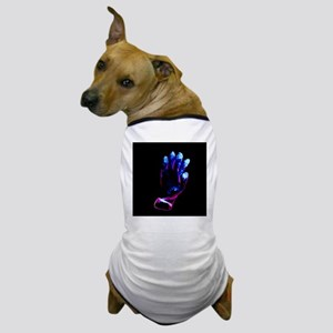 Used surgical glove, negative image - Dog T-Shirt