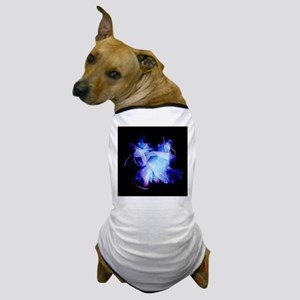 Used surgical gloves, negative image - Dog T-Shirt