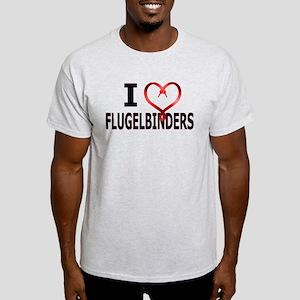 I Heart Flugelbinders Light T-Shirt